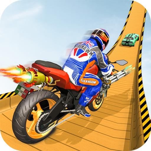 Sports Bike Stunt Game: Mega Ramp Bike Racing Game  (Unlimited money,Mod) for Android 1.0.6