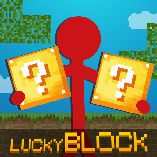 Stickman vs Multicraft: Lucky Block Craft  (Unlimited money,Mod) for Android 1.0.2