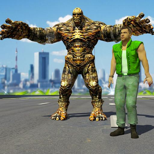 Stone giant sim: Giant hero 2019  (Unlimited money,Mod) for Android 1.7