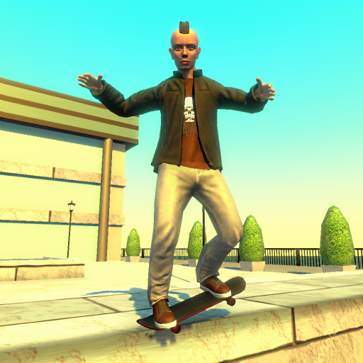 Street Lines: Skateboard  (Unlimited money,Mod) for Android 1.11