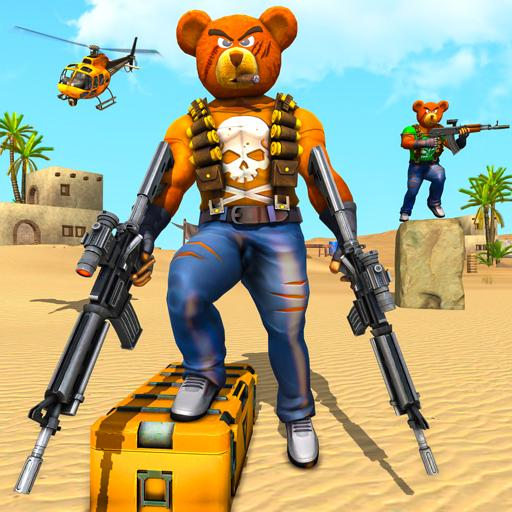 Teddy Bear Gun Strike Game: Counter Shooting Games  (Unlimited money,Mod) for Android  2.8