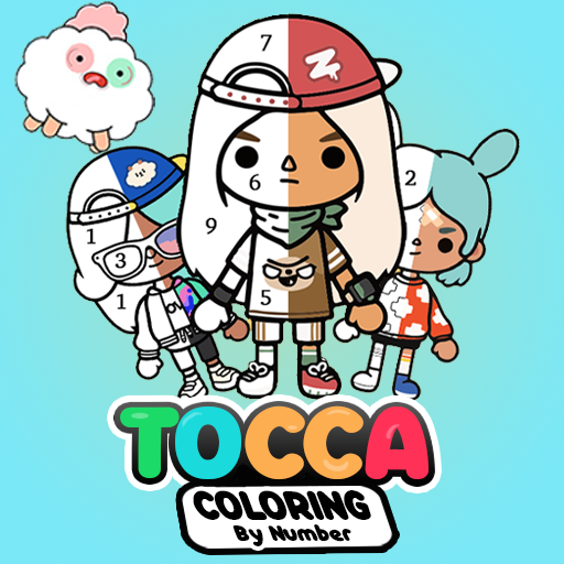 Tocca life Coloring by number  (Unlimited money,Mod) for Android 1.1.1