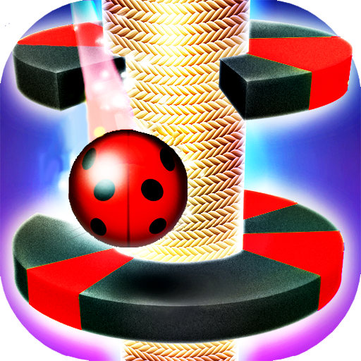 Tower Ladybug Ball Jump  (Unlimited money,Mod) for Android 12