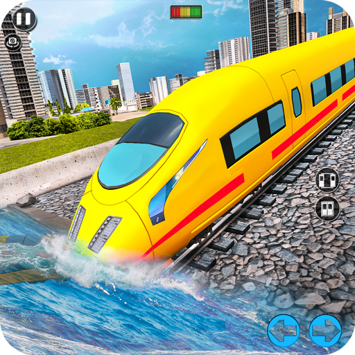 Underwater Bullet Train Simulator : Train Games  (Unlimited money,Mod) for Android 2.0.0