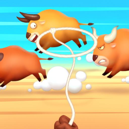 YEEHAW: Cowboy game, Enjoy stampede & lasso  (Unlimited money,Mod) for Android 1.2.9.1001