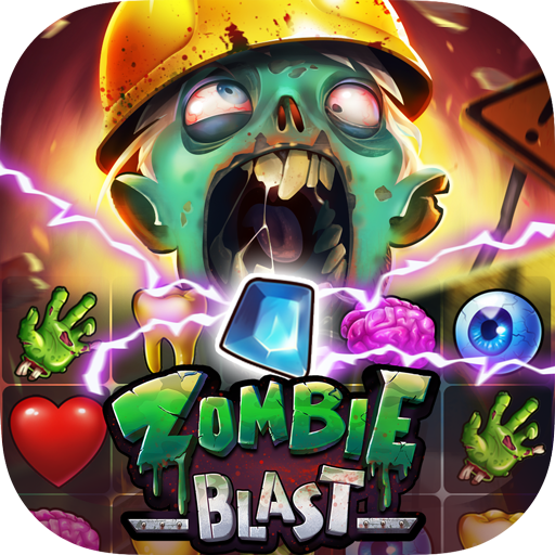Zombie Blast Match 3 Puzzle RPG Game  2.5.1 (Unlimited money,Mod) for Android