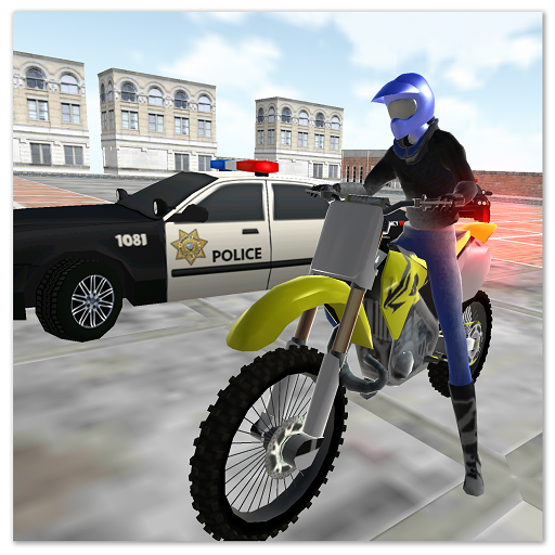 motocross racing star -ultimate police game  (Unlimited money,Mod) for Android 1.22