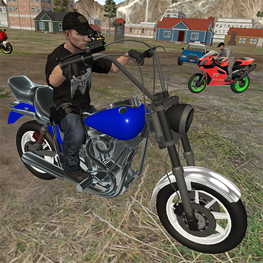 motorcycle racing star – ultimate police game  (Unlimited money,Mod) for Android 4