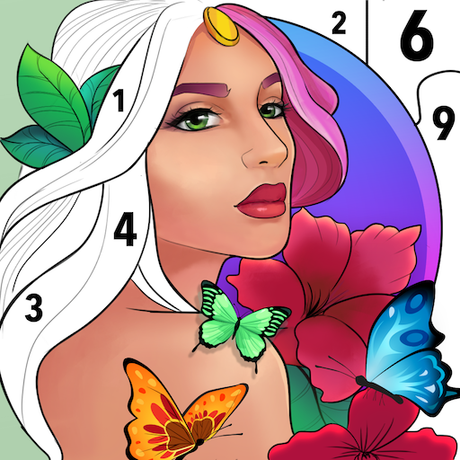 Adults Coloring Books: Color landscape picture  (Unlimited money,Mod) for Android 1.54