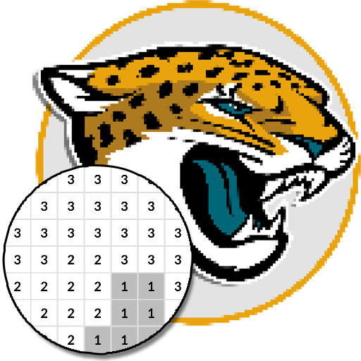 American Football Logo Color By Number – Pixel Art  (Unlimited money,Mod) for Android 7.0