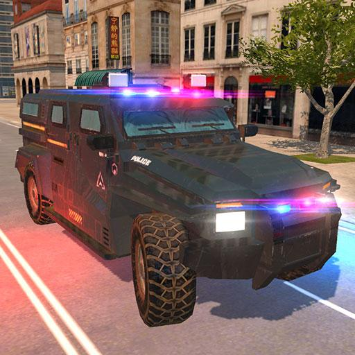 American Police Car Driving: Offline Games No Wifi  (Unlimited money,Mod) for Android 1.6