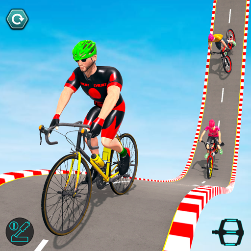 BMX Cycle Stunt Game: Mega Ramp Bicycle Racing  (Unlimited money,Mod) for Android 2.3