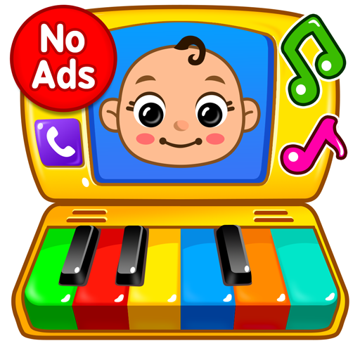 Baby Games Piano, Baby Phone, First Words  1.2.7 (Unlimited money,Mod) for Android