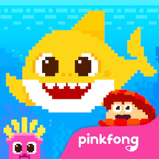 Baby Shark 8BIT : Finding Friends  (Unlimited money,Mod) for Android 2.5