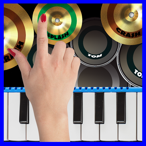 Blue Drum – Piano  (Unlimited money,Mod) for Android 2.0