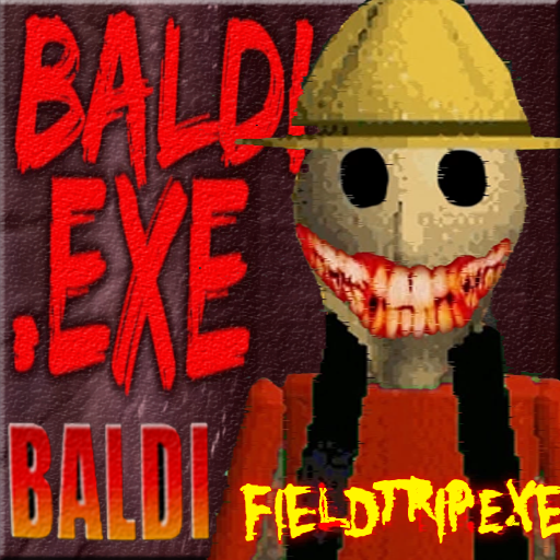 Buldi's basic Field Trip in Camping Horror  (Unlimited money,Mod) for Android BALDIS BASIC FIELD EXE