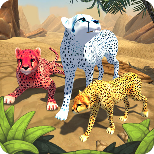 Cheetah Family Sim – Animal Simulator  (Unlimited money,Mod) for Android 7.0