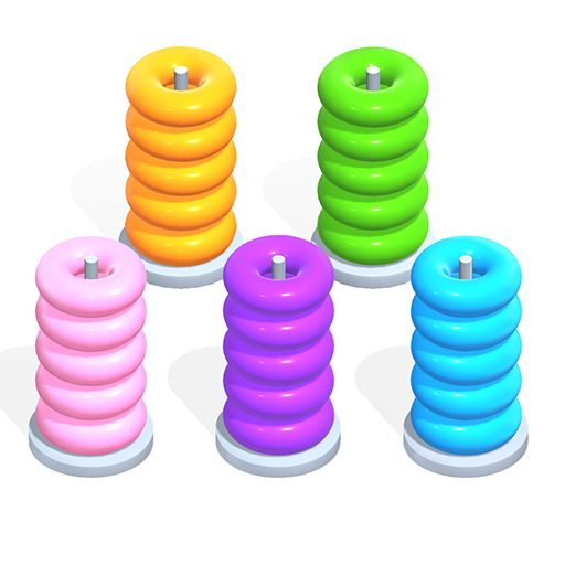 Color Hoop Stack Sort Puzzle  1.1.4 (Unlimited money,Mod) for Android