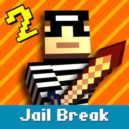 Cops N Robbers: Pixel Prison Games 2  (Unlimited money,Mod) for Android 2.2.5