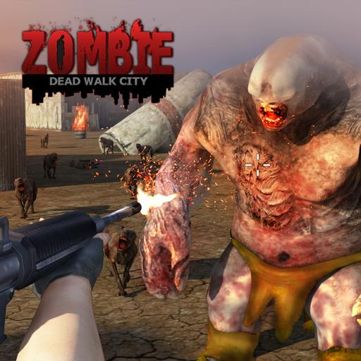 Dead Walk City : Zombie Shooting Game  (Unlimited money,Mod) for Android 1.0.9