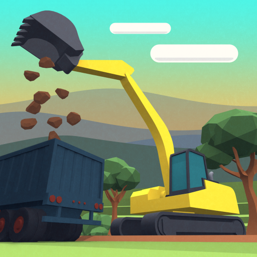 Dig In: An Excavator Game  (Unlimited money,Mod) for Android 1.6