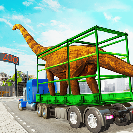 Dino Transport Truck Games: Dinosaur Game  (Unlimited money,Mod) for Android 1.6
