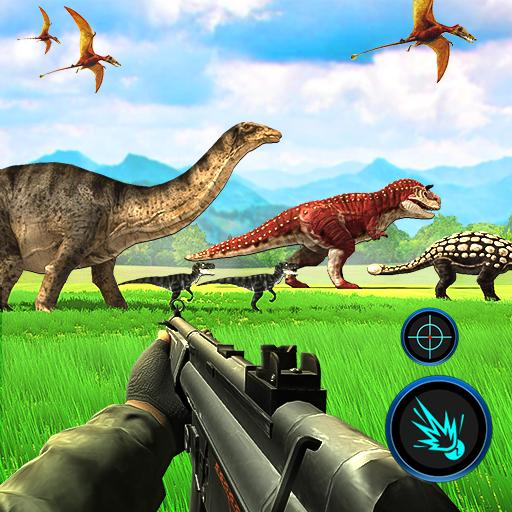 Dinosaurs Hunter Wild Jungle Animals Safari  (Unlimited money,Mod) for Android 3.4