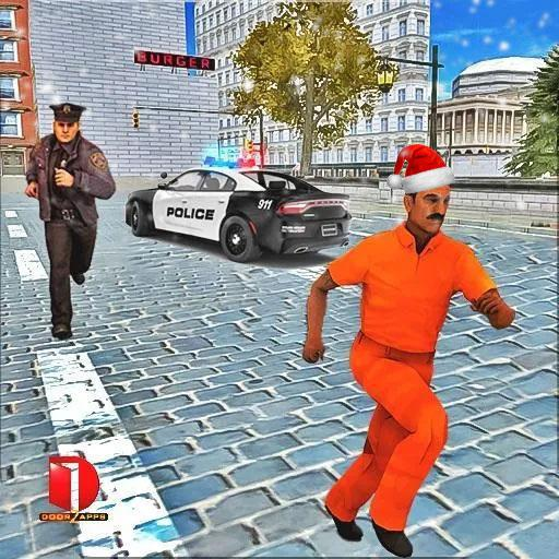 Drive Police Car Gangsters Chase : Free Games  (Unlimited money,Mod) for Android 2.0.06