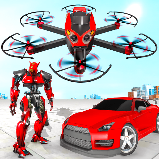Drone Robot Car Transforming Game– Car Robot Games  (Unlimited money,Mod) for Android 1.1
