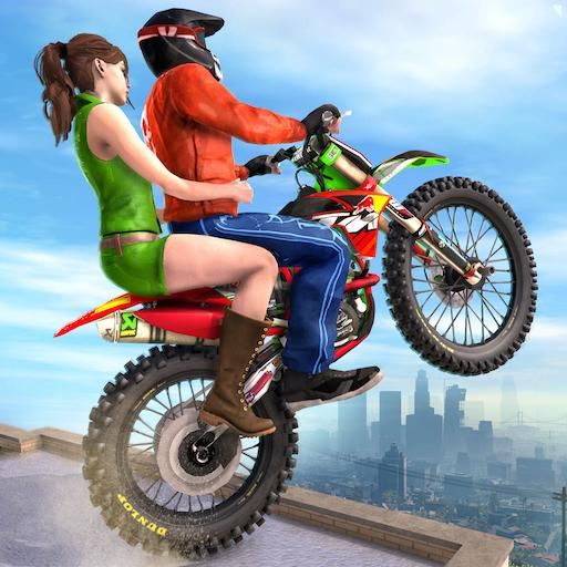 Extreme Rooftop Bike Rider Sim : Bike Games  (Unlimited money,Mod) for Android 2.9