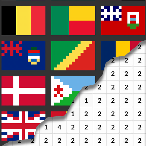 Flags Coloring By Number – Pixel  (Unlimited money,Mod) for Android 8.0