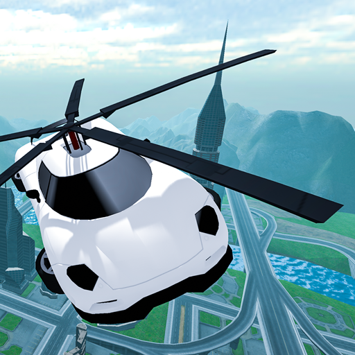 Flying Car Rescue Flight Sim (Unlimited money,Mod) for Android 3.1