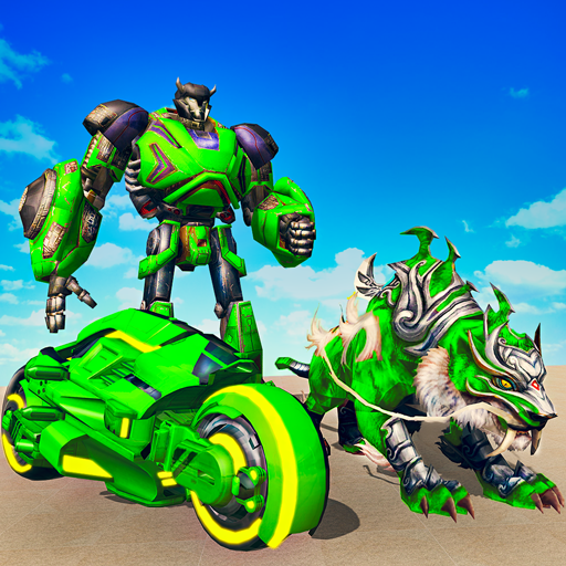Flying Tiger Attack: Flying Bike Transformation  (Unlimited money,Mod) for Android 1.0.7