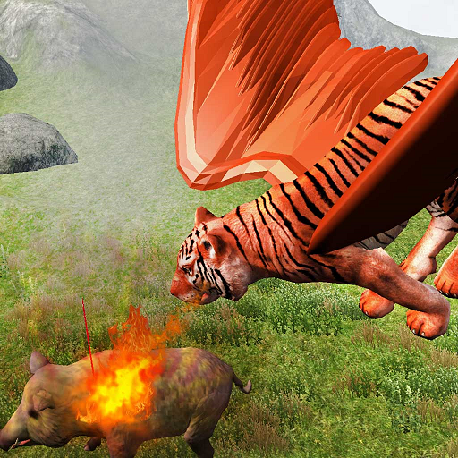 Flying Tiger Family Simulator Game  (Unlimited money,Mod) for Android 1.0.6