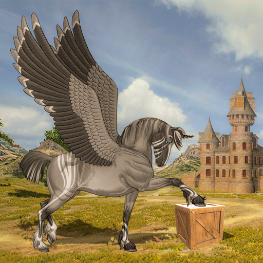 Flying Unicorn Horse Family Jungle Survival  (Unlimited money,Mod) for Android 4.6