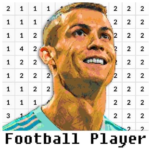 Football Player Coloring By Number – Pixel  (Unlimited money,Mod) for Android 8.0