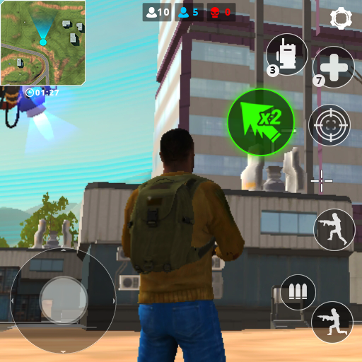 🔫Free Battle Royale Fire Force: Shooting games  (Unlimited money,Mod) for Android 2.2.2