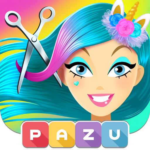Girls Hair Salon Unicorn – Hairstyle kids games  (Unlimited money,Mod) for Android 1.42