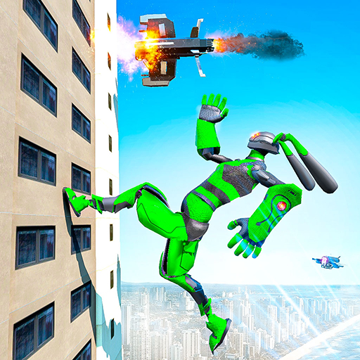 Grand Police Robot Speed: Hero Bunny Robot Games  (Unlimited money,Mod) for Android 1.0.4