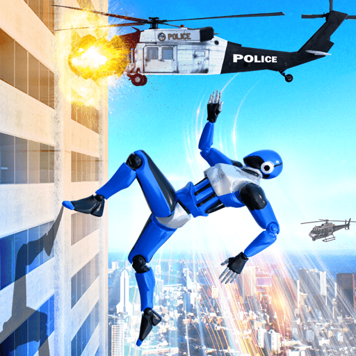 Grand Police Robot Speed Hero City Cop Robot Games  (Unlimited money,Mod) for Android 22
