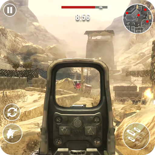 Gun Strike Fire: FPS Free Shooting Games 2021  1.2.4 (Unlimited money,Mod) for Android