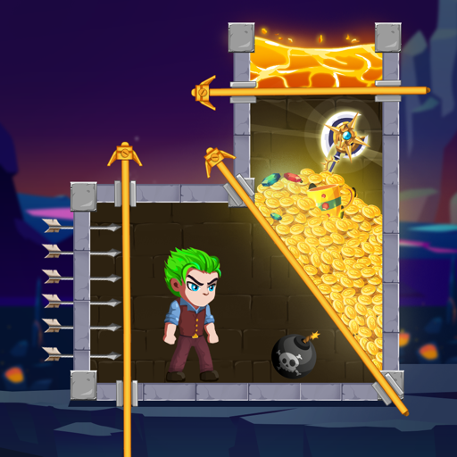 Hero pull the pin: Hero rescue  (Unlimited money,Mod) for Android 3.7