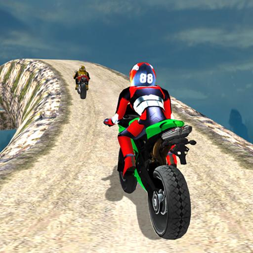 Hill Top Bike Racing  3.0 (Unlimited money,Mod) for Android