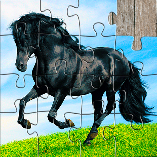 Horse Jigsaw Puzzles Game – For Kids & Adults 🐴  (Unlimited money,Mod) for Android 25.2