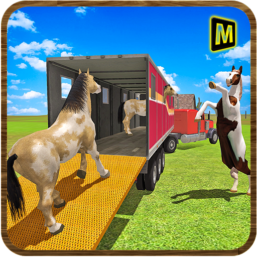 Horse Stunts Transporter Truck  (Unlimited money,Mod) for Android 0.1