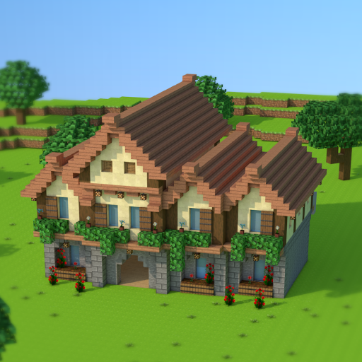 House Craft 3D – Idle Block Building Clicker  (Unlimited money,Mod) for Android 1.0.3
