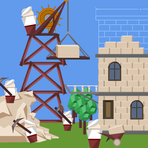 Idle Tower Builder: construction tycoon manager  (Unlimited money,Mod) for Android 1.1.9