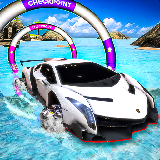 Incredible Water Surfing Hero 3D: Car Racing Game  (Unlimited money,Mod) for Android 1.3