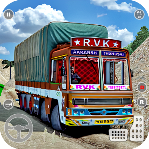 Indian Truck Cargo Simulator 2020: New Truck Games  (Unlimited money,Mod) for Android 1.0