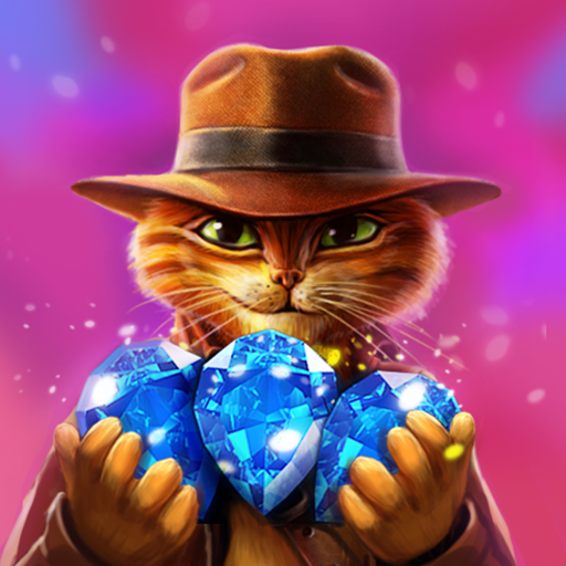 Indy Cat Match 3 Puzzle Adventure  1.85 (Unlimited money,Mod) for Android